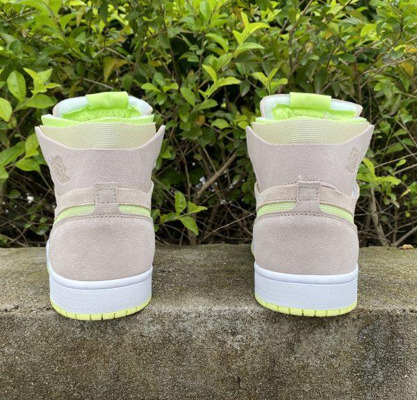 Air Jordan 1 Zoom CMFT Lemon Twist Heel