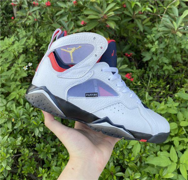 2021 Air Jordan 7 PSG White Sport Shoes Release Date CZ0789-105-2