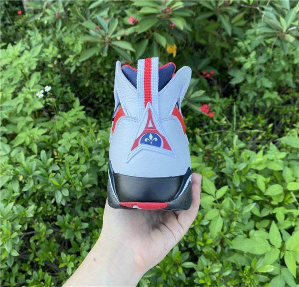 2021 Air Jordan 7 PSG White Sport Shoes Release Date CZ0789-105-5