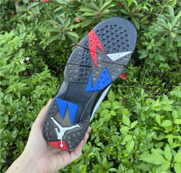 2021 Air Jordan 7 PSG White Sport Shoes Release Date CZ0789-105-6