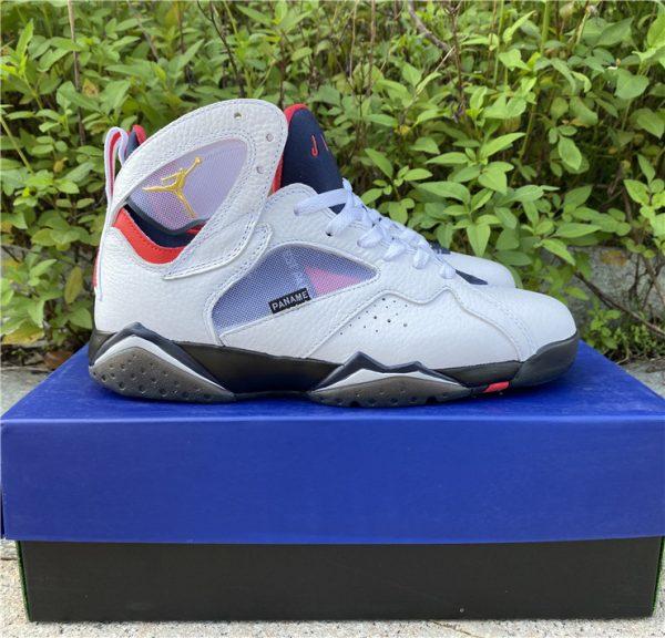 2021 Air Jordan 7 PSG White Sport Shoes Release Date CZ0789-105