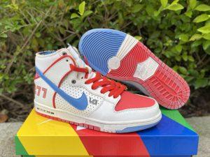 2021 Ishod Wair x Magnus Walker x Nike SB Dunk High UK Sale DH7683-100