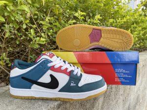 2021 Parra x Nike SB Dunk Low Special Sale DH7695-100