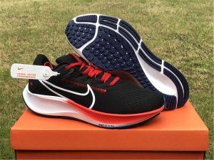 2021 Release Nike Air Zoom Pegasus 38 Black Red White DH4243-001