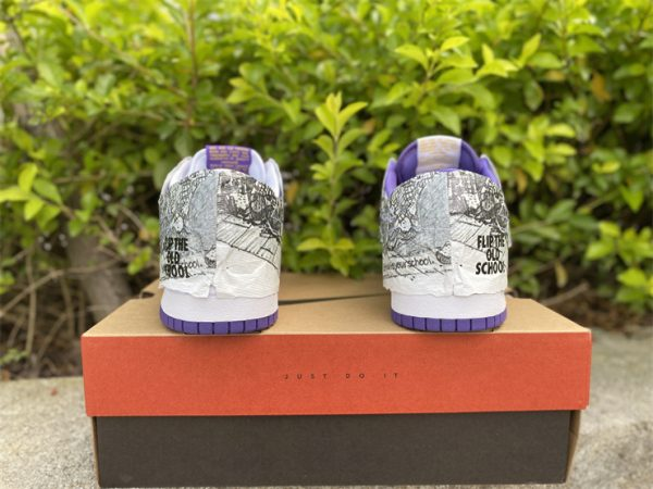 2021 Release Nike Dunk Low Flip The Old School Heel