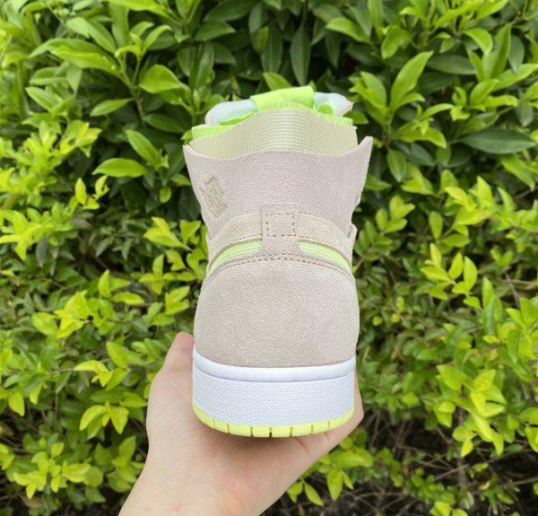 Air Jordan 1 Zoom CMFT Lemon Twist UK Heel CT0979-200