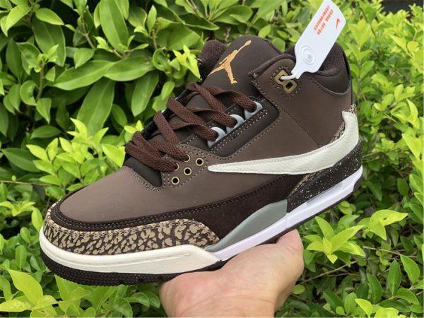 Buy Air Jordan 3 Retro Tinker NRG Gold Beige Dark Brown 854262-609-3