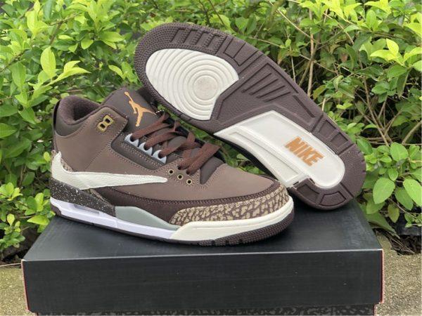 Buy Air Jordan 3 Retro Tinker NRG Gold Beige Dark Brown 854262-609
