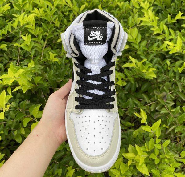 Cheap Air Jordan 1 Zoom CMFT Sail Summit White Shoes CT0979-002-4