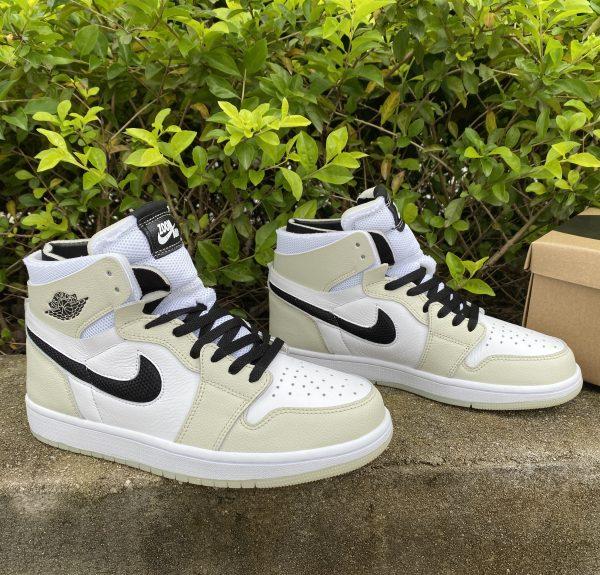 Cheap Air Jordan 1 Zoom CMFT Sail Summit White Shoes CT0979-002-6