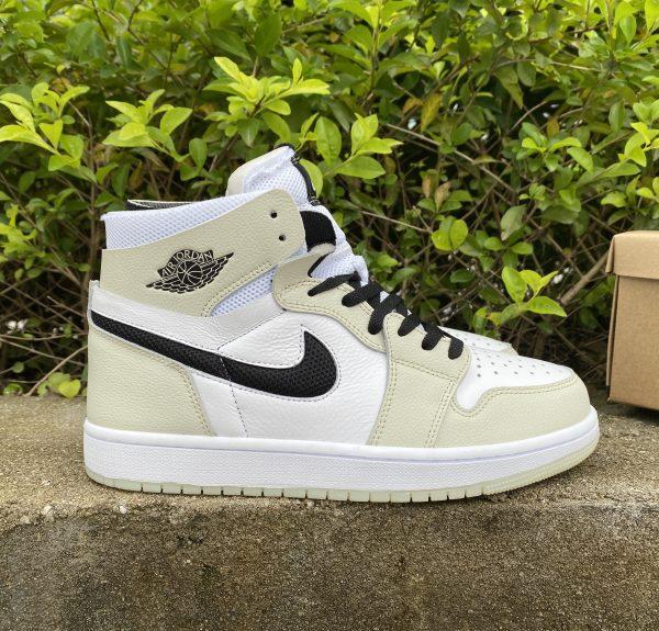 Cheap Air Jordan 1 Zoom CMFT Sail Summit White Shoes CT0979-002