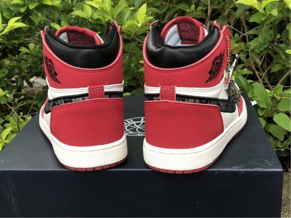Dior x Air Jordan 1 High Chicago Sale For Men and Women-4