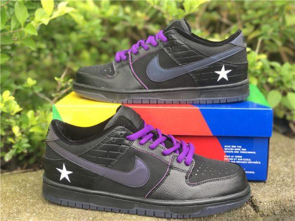 Familia x Nike SB Dunk Low First Avenue Black Purple UK Shoes DJ1159-001-6