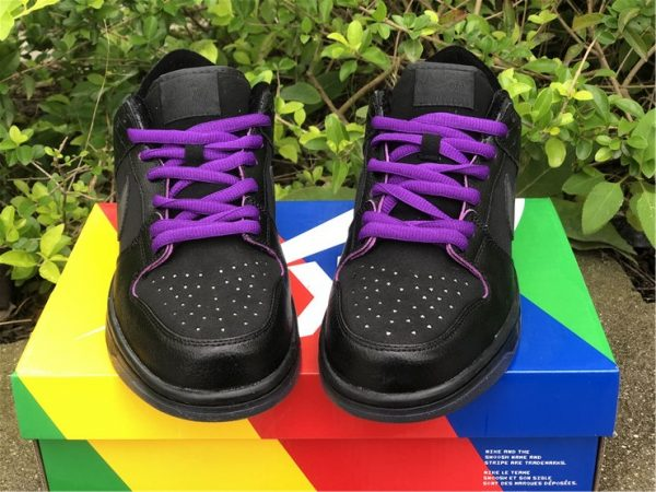 Familia x Nike SB Dunk Low First Avenue Black Purple UK Shoes DJ1159-001-4