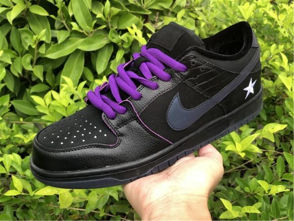 Familia x Nike SB Dunk Low First Avenue Black Purple UK Shoes DJ1159-001-3