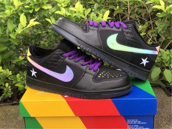 Familia x Nike SB Dunk Low First Avenue Black Purple UK Shoes DJ1159-001-2