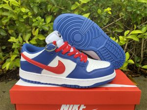 Nike Dunk Low Royal Red Running Shoes For Sale CW1590-104