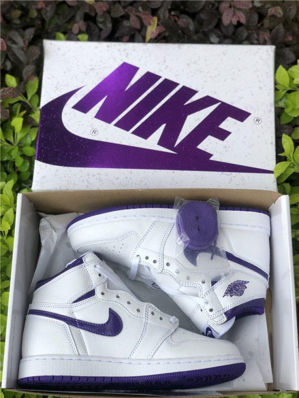 New Air Jordan 1 High OG Court Purple In Box