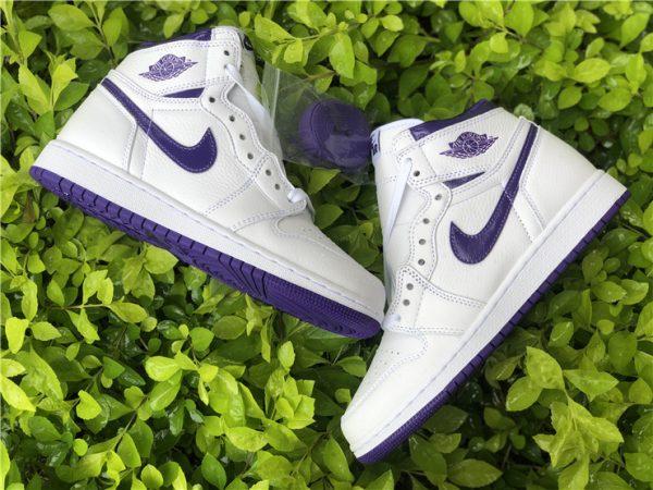 New Air Jordan 1 High OG Court Purple Online Store CD0461-151-1