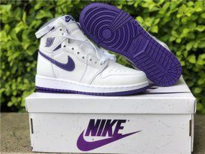 New Air Jordan 1 High OG Court Purple Online Store CD0461-151