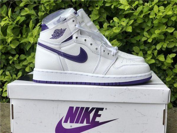 New Air Jordan 1 High OG Court Purple Online Store CD0461-151-4