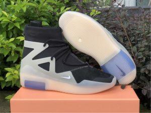 Nike Air Fear of God 1 String Off Noir UK For Sale AR4237-903
