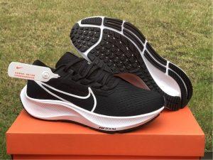 Nike Air Zoom Pegasus 38 Black White Running Shoes CW7356-002
