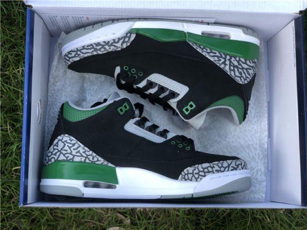 2021 Releases Air Jordan 3 III Pine Green Men Shoes CT8532-030-1