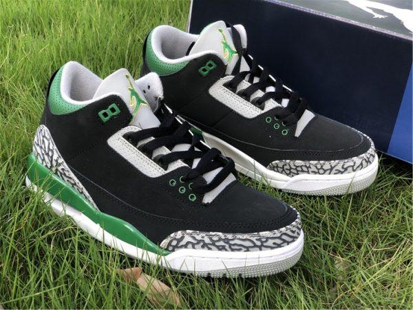2021 Releases Air Jordan 3 III Pine Green Men Shoes CT8532-030-2