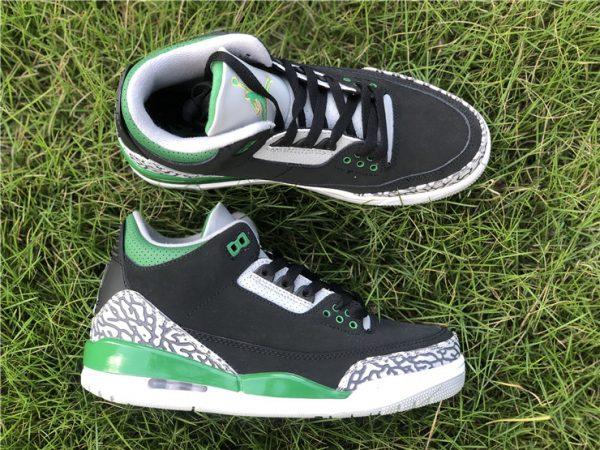 2021 Releases Air Jordan 3 III Pine Green Men Shoes CT8532-030-3