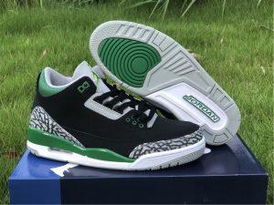 2021 Releases Air Jordan 3 III Pine Green Men Shoes CT8532-030