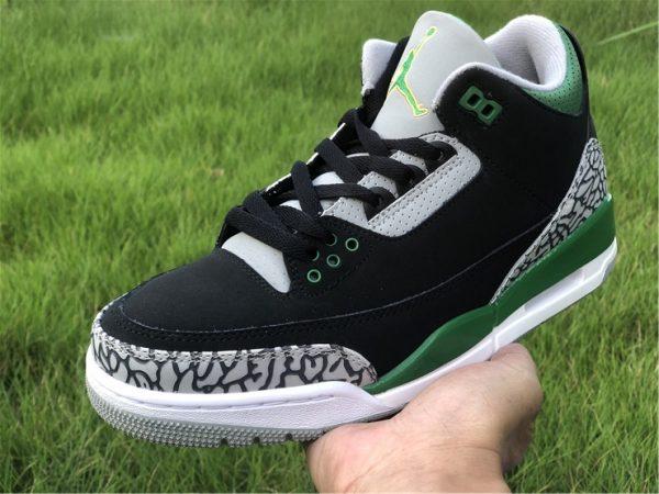 2021 Releases Air Jordan 3 III Pine Green Men Shoes CT8532-030-4