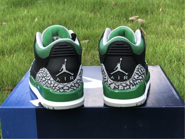 2021 Releases Air Jordan 3 III Pine Green Men Shoes CT8532-030-6