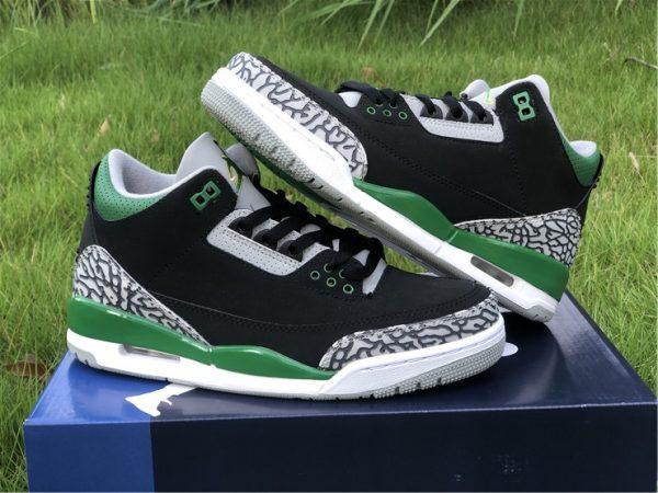 2021 Releases Air Jordan 3 III Pine Green Men Shoes CT8532-030-8