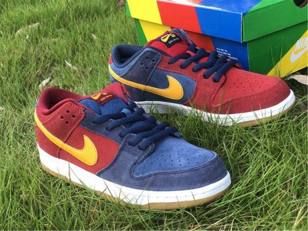 2021 Releases Nike SB Dunk Low Catalonia UK Sale DJ0606-400-2