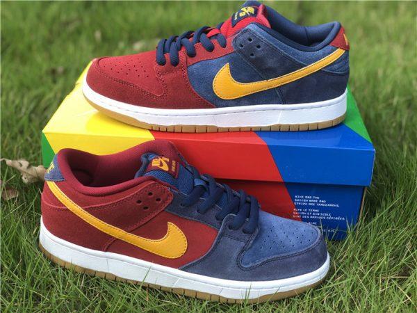 2021 Releases Nike SB Dunk Low Catalonia UK Sale DJ0606-400-3