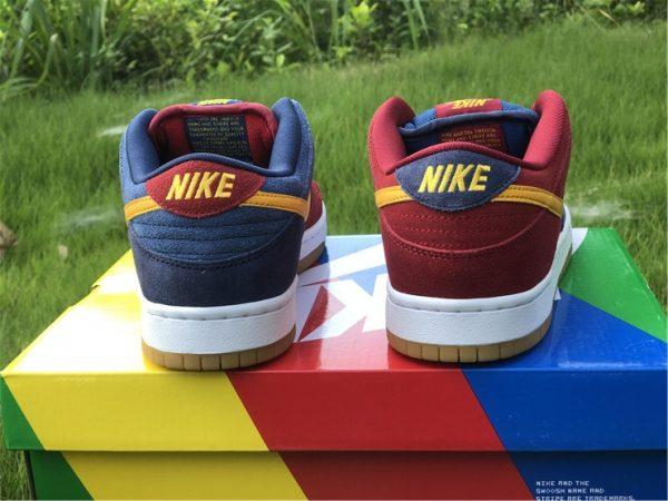 2021 Releases Nike SB Dunk Low Catalonia UK Sale DJ0606-400-4