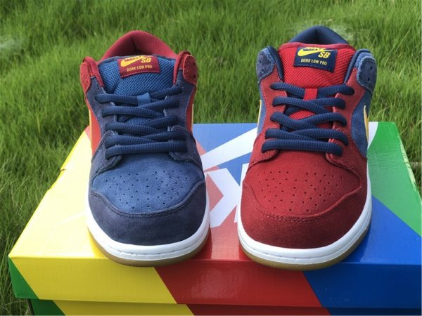 2021 Releases Nike SB Dunk Low Catalonia UK Sale DJ0606-400-5