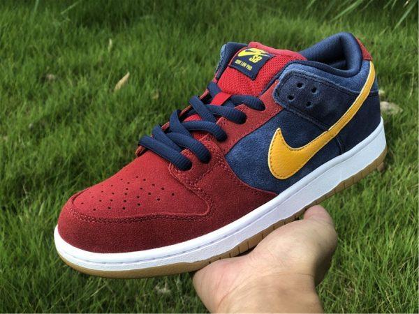 2021 Releases Nike SB Dunk Low Catalonia UK Sale DJ0606-400-6