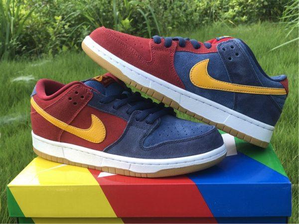 2021 Releases Nike SB Dunk Low Catalonia UK Sale DJ0606-400-7