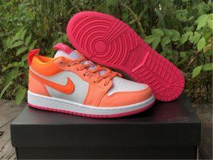 Cheap Price Air Jordan 1 Low Utility Hot Pink Orange White DJ0530-801