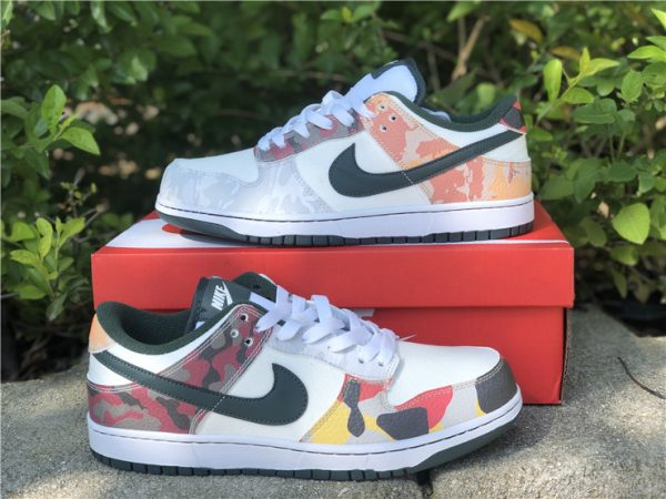 Cheap Price Nike Dunk Low SE Camo For Sale DH0957-100-2