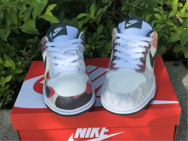 Cheap Price Nike Dunk Low SE Camo For Sale DH0957-100-4