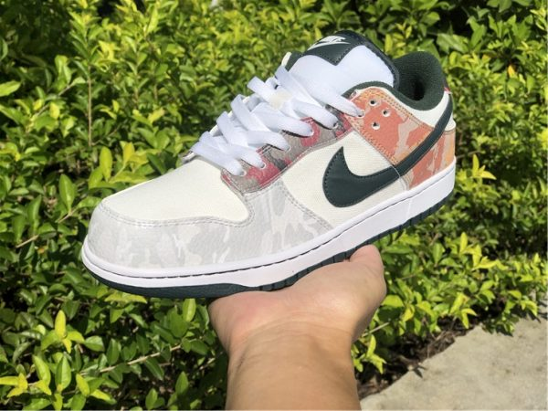 Cheap Price Nike Dunk Low SE Camo For Sale DH0957-100-5