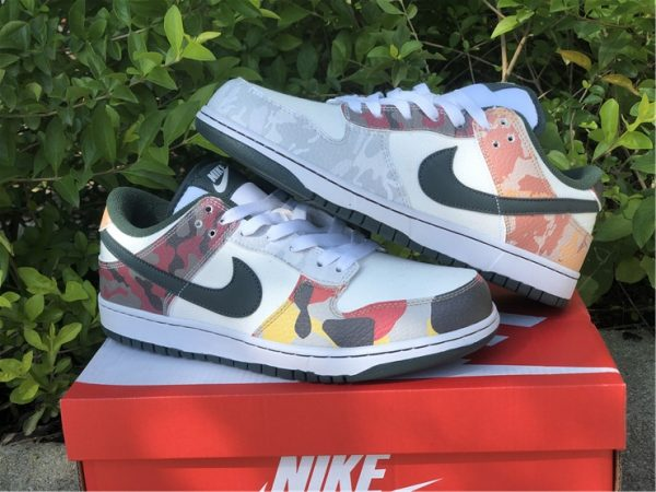 Cheap Price Nike Dunk Low SE Camo For Sale DH0957-100-6