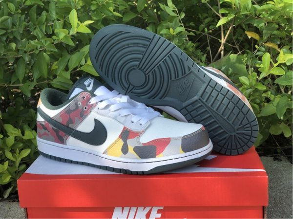 Cheap Price Nike Dunk Low SE Camo For Sale DH0957-100