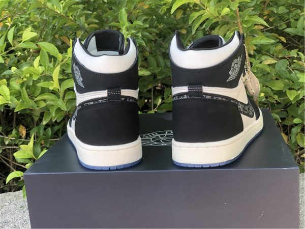 Dior Air Jordan 1 Black White For Sale CN8607-001-5