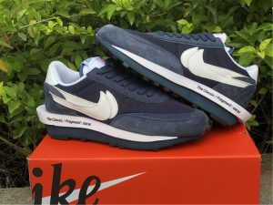 Fragment x sacai x Nike LDV Waffle Blue Void UK For Sale DH2684-400