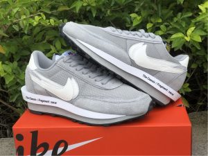 Fragment x Sacai x Nike LDWaffle Grey White UK Sneakers DH2684-001