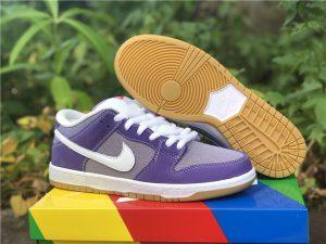 New Nike Dunk Low White Purple UK For Sale DA9658-500